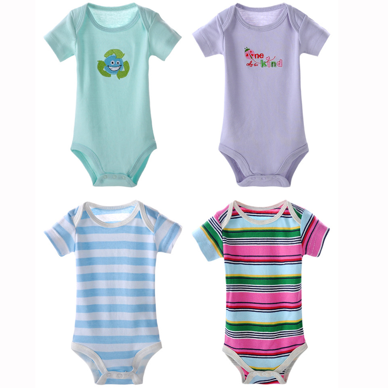 5Pcs/lot Summer Style 2017 Baby Bodysuits Body Short sleeve 100%Cotton Jumpsuits Baby Clothes Baby Boy Girl Clothing cartoon5Pcs/lot Summer Style 2017 Baby Bodysuits Body Short sleeve 100%Cotton Jumpsuits Baby Clothes Baby Boy Girl Clothing cartoon