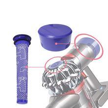 купить 2pcs/set Pre and Post-Motor HEPA Filter for Dyson V7 V8 Cordless Vacuum Cleaner accessories of part по цене 248.15 рублей