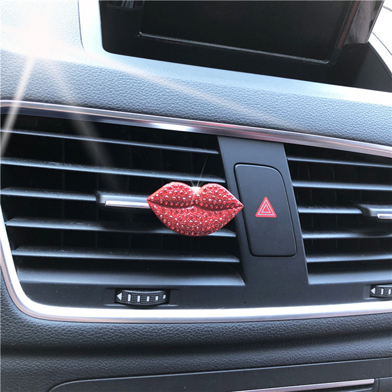 Car Perfume Fragrant Clip Loving Lips Air Outlet Fragrance Perfume Air Freshener Essential Oil Replacement Automobile Accessorie in Air Freshener from Automobiles Motorcycles