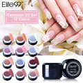 Elite99 12 Different Colors UV Gel For Nail Extension Strengthen Builder French Tips Manicure Beauty Design Pick Any 1 Color