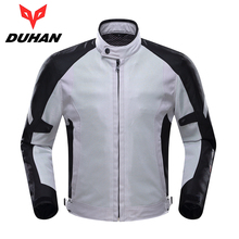 DUHAN Professional Men Motorcycle Jacket Breathable Mesh Cloth Motocross Off-Road Racing Jakcet Moto Riding Coat Clothing