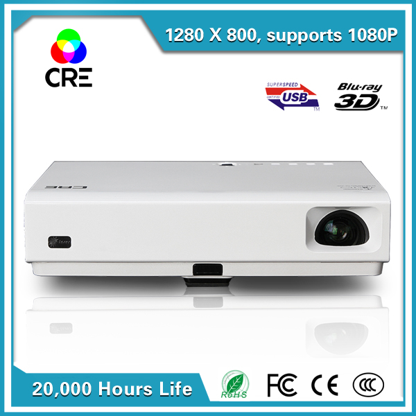 2016 china lowest price 3d hdmi 1080p 3800 lumens led for T mobile mini projector
