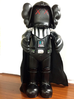 new Action Dolls 50cm Black Star Wars Figures Models Juguetes Original Box Ultralarge kaws trend of doll toy decoration gift