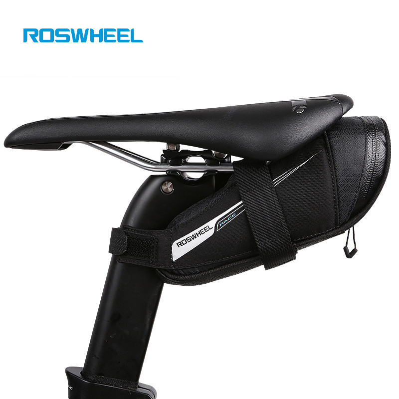 Roswheel Rainproof Road Bike Saddle Bag Outdooor Cycling Seat Pouch MTB Bicycle Rear Tail Bag bike accessories bisiklet aksesuar roswheel bicycle bag men women bike rear seat saddle bag crossbody bag for cycling accessories outdoor sport riding backpack