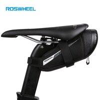 Roswheel Rainproof Road Bike Saddle Bag Outdooor Cycling Seat Pouch MTB Bicycle Rear Tail Bag bike accessories bisiklet aksesuar