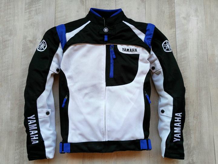 Summer Mesh Motorcycle Jackets Moto Racing Windproof waterproof Jackets fit for Yamaha Motor With 5pcs Protectors