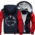New High Quality A Song of Ice and Fire Hoodie Game of Thrones Coat Jacket Winter Men Thick Zipper Warm Sweatshirt