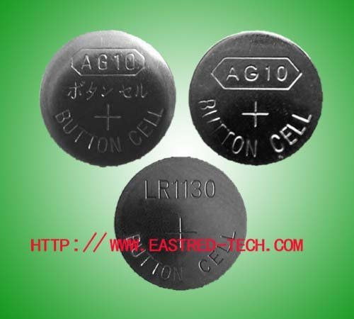 5000pcs/Lot, AG10 LR1130 alkaline button cell battery for watches