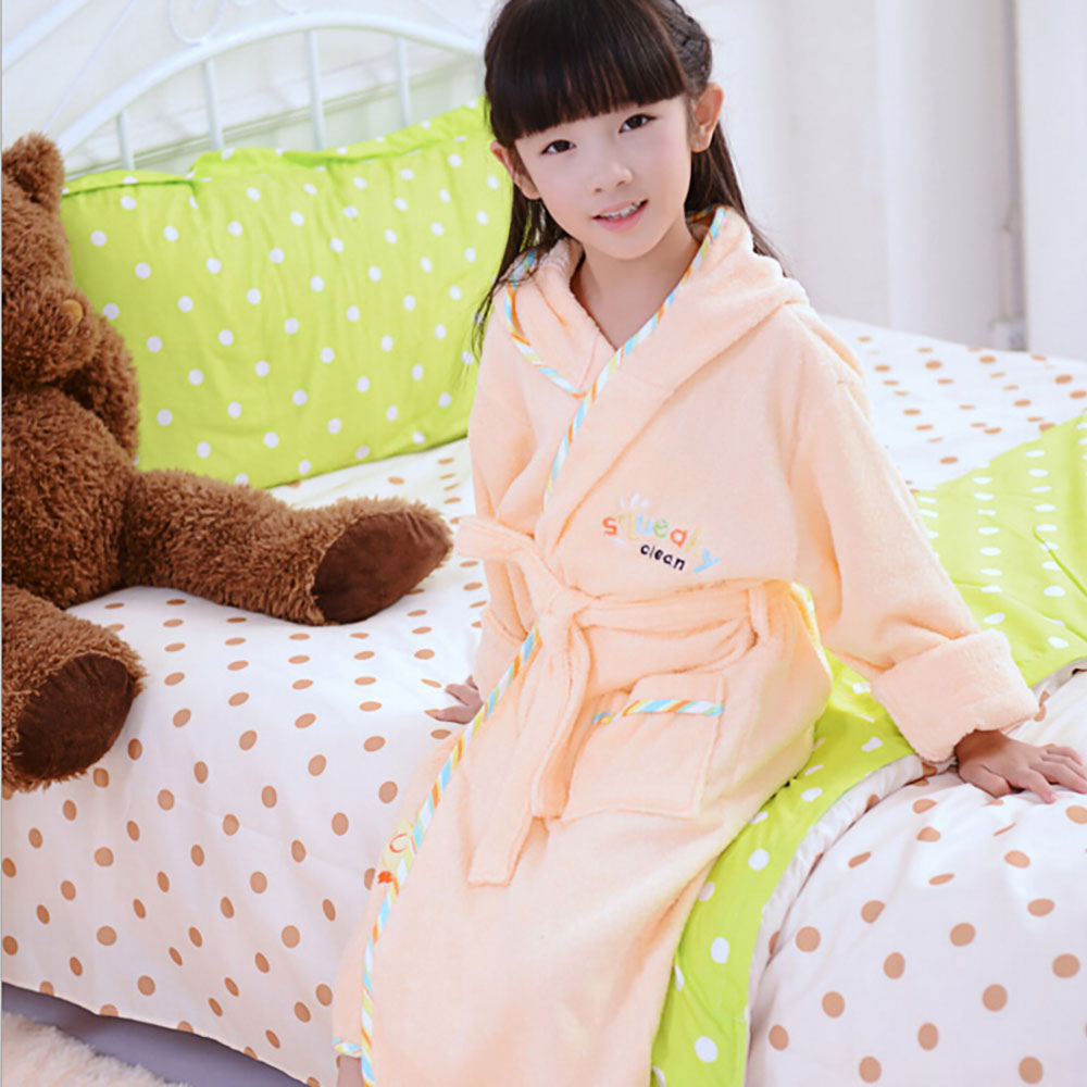 75799ef526 Cotton bathrobe women men s robe nightgown towel sleepwear for girl ...
