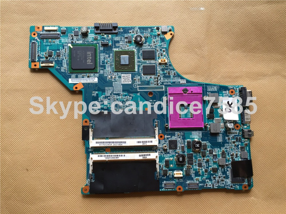 A1703240A For Sony M753H MBX-190 Laptop Motherboard Mainboard 1P-0092100-A011 100% tested