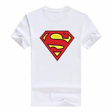 YGYKE New 2017DC comics Superhero Superman Logo T-shirt Summer Short Sleeve Tees  Men's T Shirt Fashion Costumes for Men S-3XL
