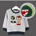 Wholesale Children Autumn Unisex Cotton T-shirt Spring Winter Coat Kids Long Sleeve Casual Outwear #48