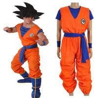 Аниме Dragon Ball Сон Гоку Костюмы для косплея униформа одежда высокого качества
