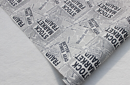 Newspaper Wallpaper Pvc Design Wall Paper From Factory
