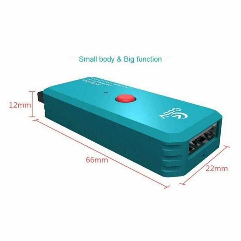 N100 plus para ps4/xboxone controlador sem fio interruptor adaptador conversor para pc nintend ns conversor gamepad joystick sem