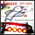 TRAXXAS X-MAXX Lamp Headlamps Taillight Set 12pcs Include head light bracket and switch