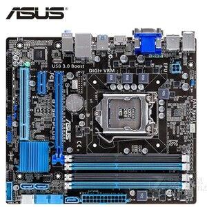 ASUS LGA 1155 B75M-PLUS Motherboard DDR3 32GB For Intel B75 B75M-PLUS Desktop Mainboard Systemboard SATA III USB Used