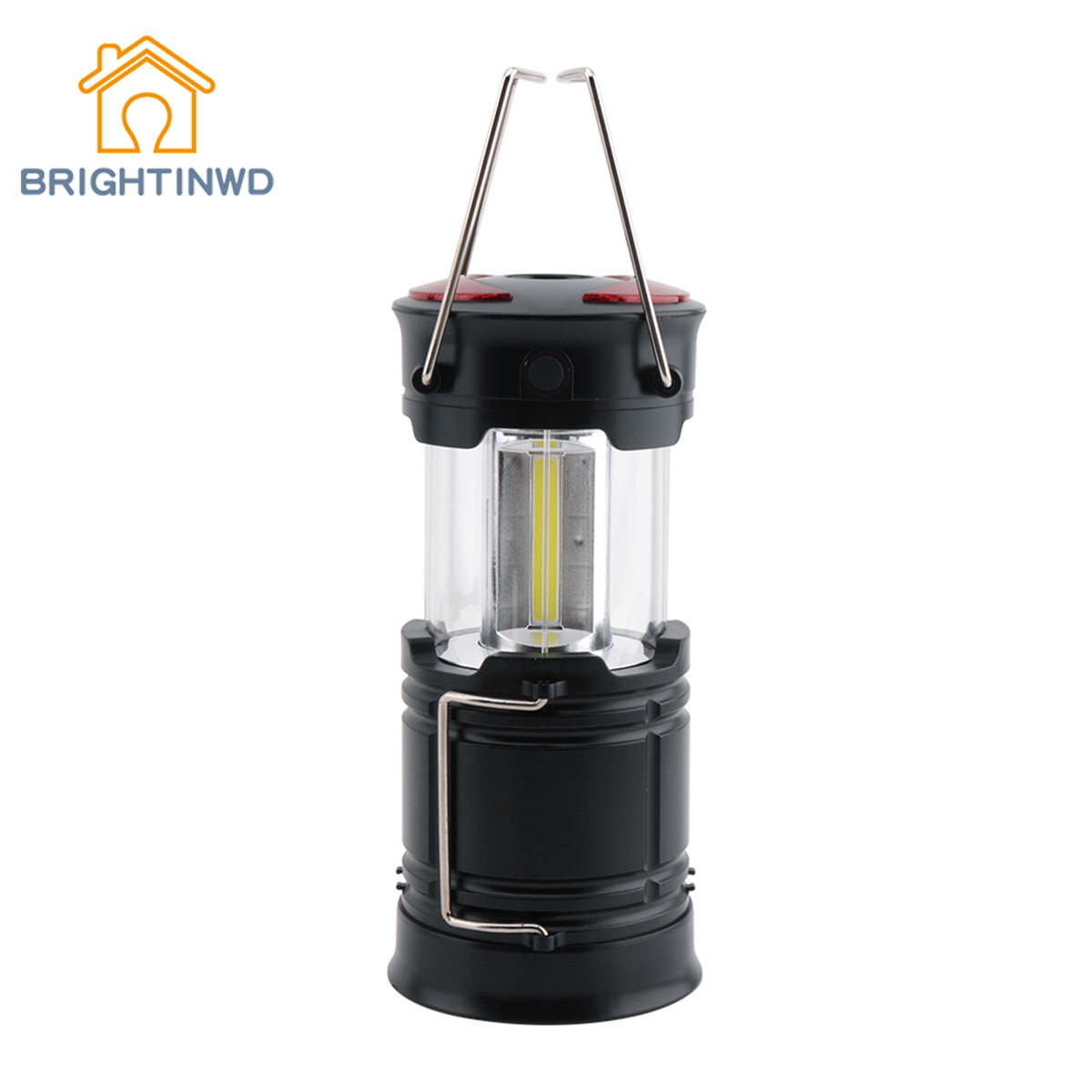 BRIGHTINWD Camping Lantern COB LED Tent Light Ultra Bright Portable Camping Light Outdoor Hanging Light with Magnet Camping Lamp