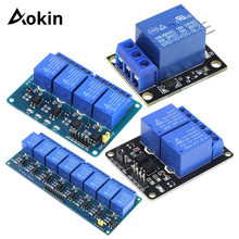1 2 4 8 Channel DC 5V Relay Module with Optocoupler Low Leve