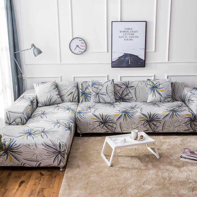 L Shaped Sofa Universal Stretch Elastic