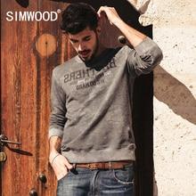 SIMWOOD Marke 2016 Neue Herbst Winter Sweatshirts männer mode kausalen warme hoodies langarm WY8006