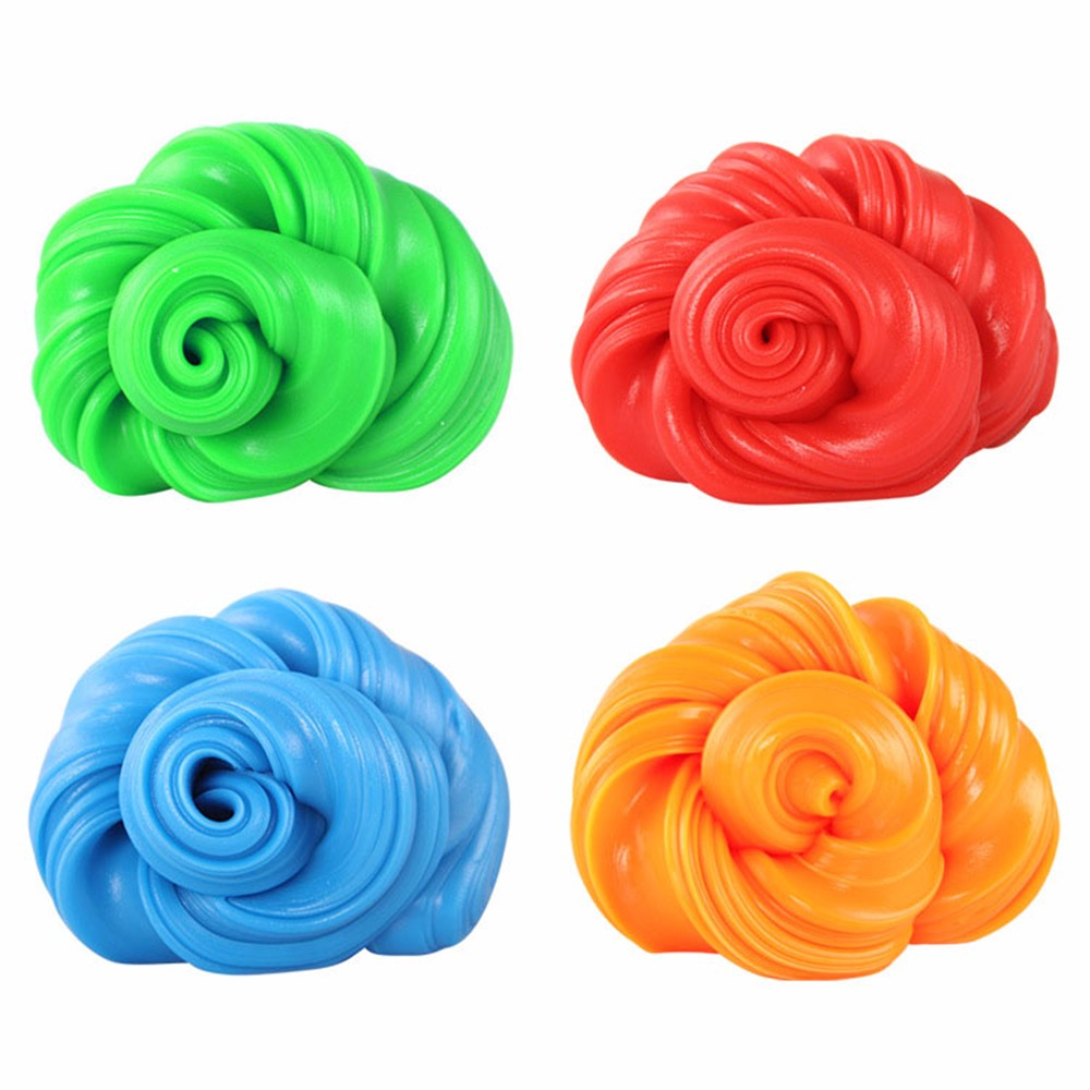 DIY Slime Clay Plasticene Mud Fluffy Floam Soft Slime Scented Stress Relief No Borax Kids Toy Sludge Cotton Mud Clay Toys Gifts