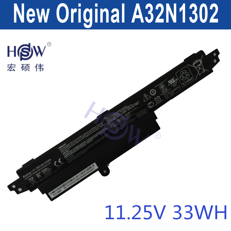 HSW 11.25V33WH A31N1302 Battery For ASUS VivoBook X200CA X200MA X200M X200LA F200CA 200CA 11.6
