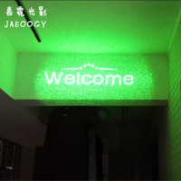 Free shipping coffee shop clear bar laser laser welcome to slogan creative laser fluorescent lamp clothing boutique tide