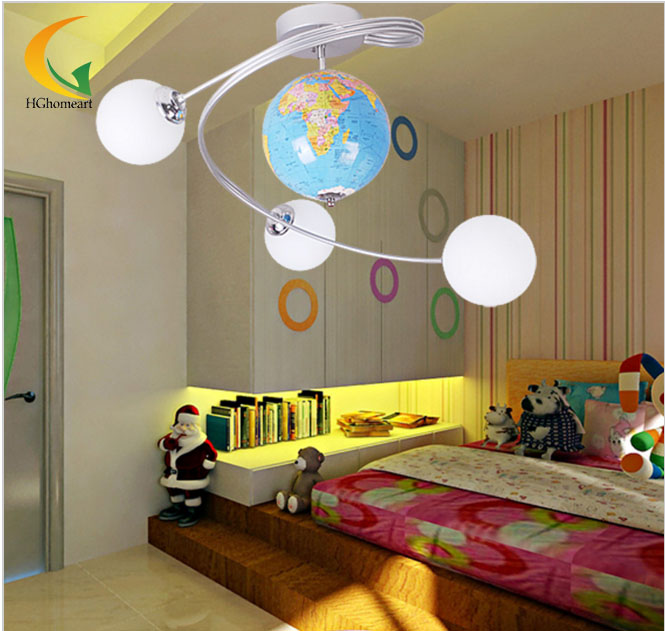 Lights Ceiling Boy Children Bedroom Ceiling Children's