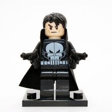 XINH 165 The Punisher Building Blocks Super Heroes Avengers Ultron Single Minifigures Bricks Mini Figures Toys
