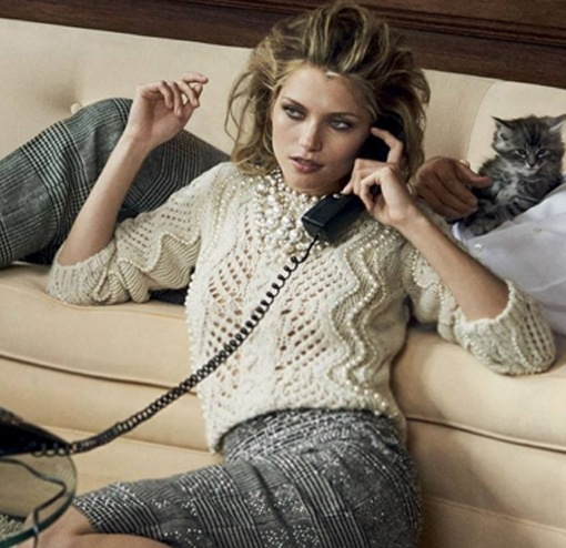 S2017 nouvelle mode haute qualité à manches longues en laine au crochet main perles o-cou pull à tricoter doux pulls
