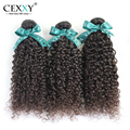 "Cexxy Hair Kinky Curly Virgin Hair New Arrival 6A Unprocessed Brazilian Curly Virgin Hair 3PCS/LOT 8""-24"" In Stock Free Shipping"