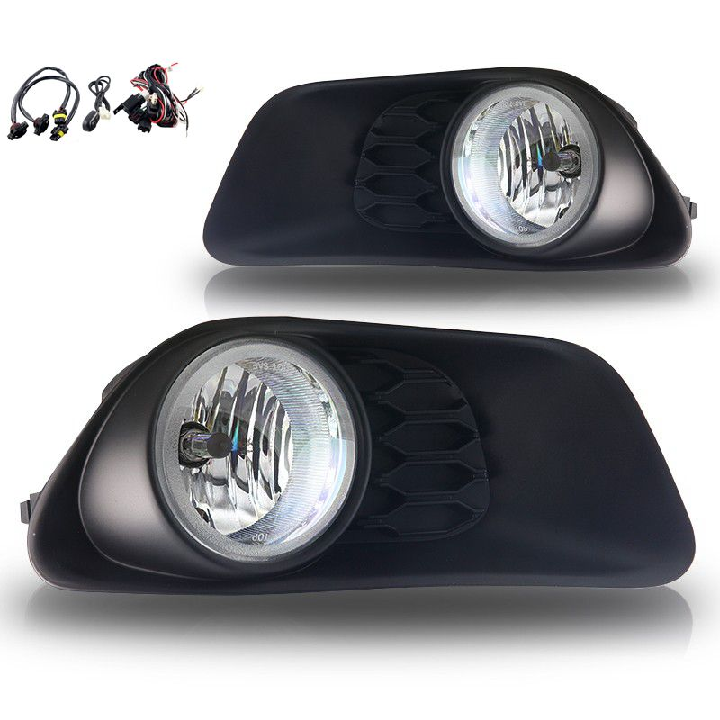 Case for Dodge Caravan 2012 2013 2014 fog light halogen fog lamp car light aseembly H10