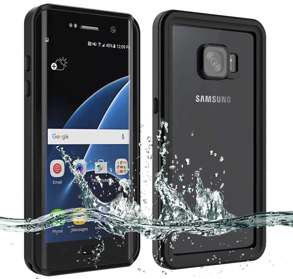 Waterproof Case IP68 Underwater Life Water shockproof Snowproof For Galaxy S7 Edge Phone Cover