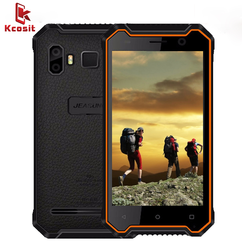 China Original JEASUNG P8 IP68 Rugged Waterproof SmartPhone outdoor slim Moble phone Android 7.0 4G Shockproof 3GBRAM Cellphone