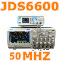 JDS6600 50MHZ Digital Control Dual Channel DDS Function Signal Generator Frequency Signal Source Meter Arbitrary 30