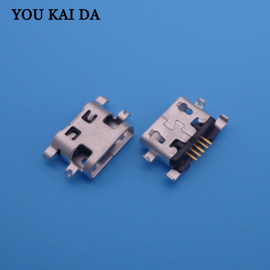 50pcs For <font><b>Alcatel</b></font> <font><b>6035R</b></font> Idol S 4033 4033D POP C3 OT6012 OT 6012 OT 6012D micro usb charge charging connector plug socket port image