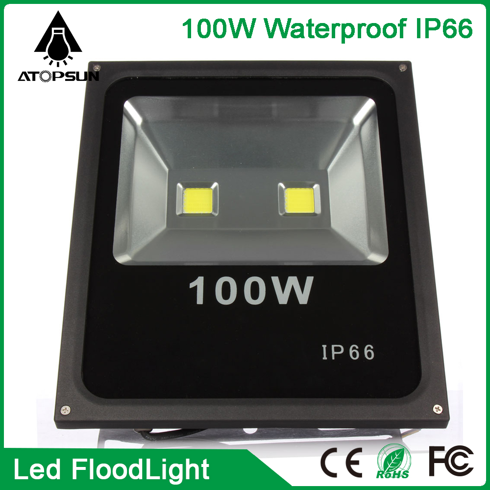 Led Flood Light Reflector led 100W Led Refletor Floodlight Exterieur Spotlight Outdoor lighting Christmas Lighting Warm /White ultrathin led flood light 100w led floodlight ip65 waterproof ac85v 265v warm cold white led spotlight outdoor lighting