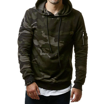 Mens Camouflage Sweatshirts Hooded