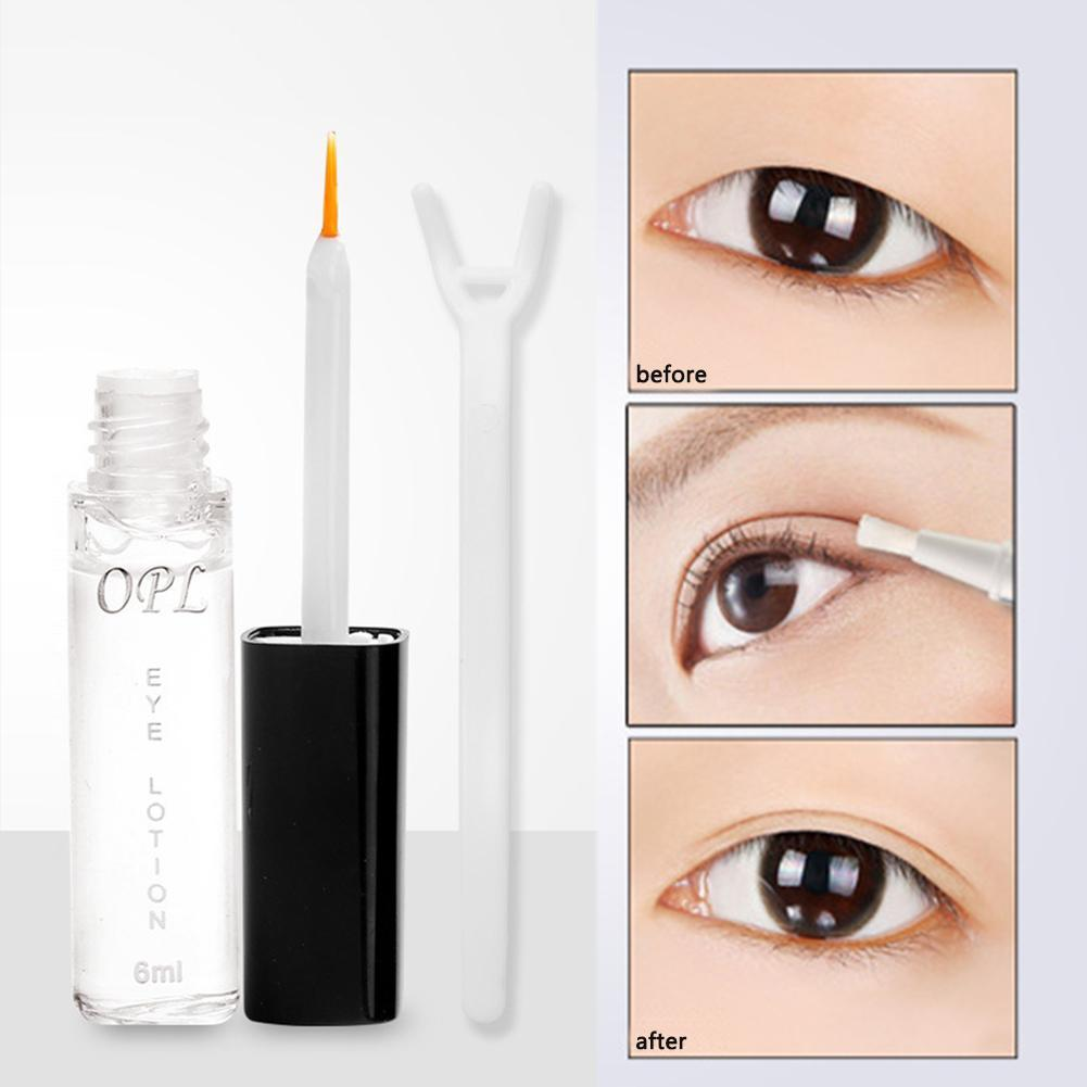 Eye Lotion Invisible Double Eye Eyelids False Eyelashes Big Eye Not Glue Transparent Eyelid Super Stretch Warm Prevent Allergy
