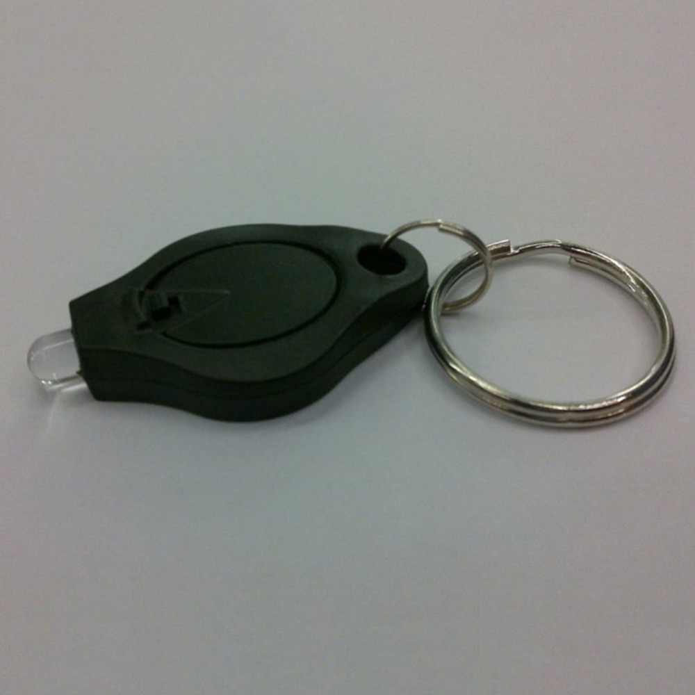 المحمولة صغيرة الحجم المفاتيح ضغط ضوء مايكرو مصباح ليد جيب الشعلة في الهواء الطلق التخييم الطوارئ مفتاح مصباح مصمم على شكل حلقة