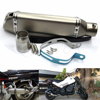 for Motorcycle parts Exhaust Universal 51mm Stainless Steel Motorbike Exhaust Pipe  For Suzuki GSR 600 750 GSXR 600 750 1000