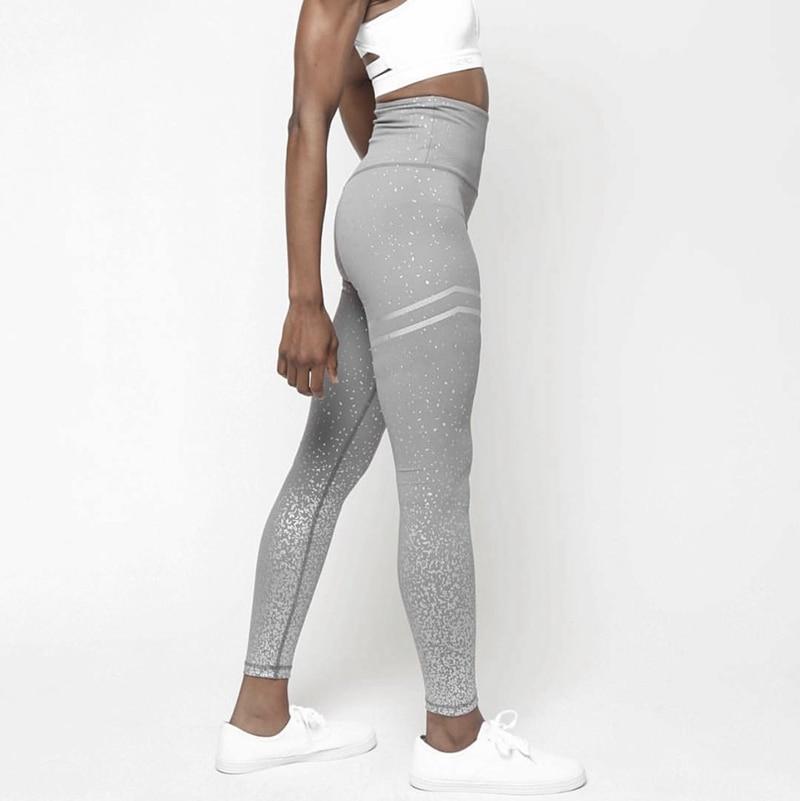 2019 female high quality snow printing   leggings   for fitness plus size women fashion high waist   legging   girls hot sale leggins