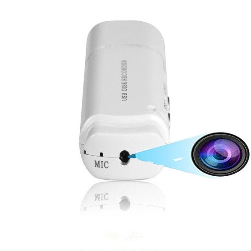 Hidden Mini Camera Recorder USB Voice Recorder Dictaphone Micro Recording Mini DVR Black and White