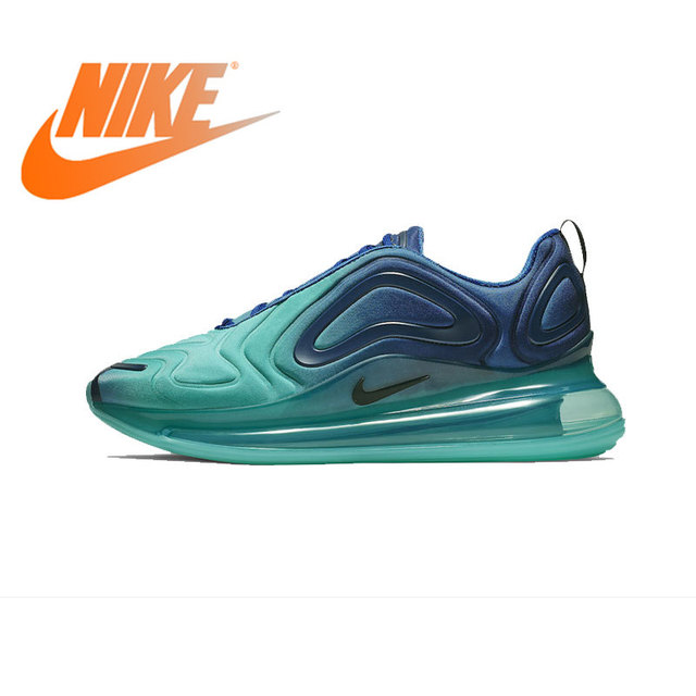 8209d692 Original Authentic NIKE Air Max 720 Men's Shoes Running sneakers Breathable Sports  Shoes 2019 Spring New arrival AO2924-400