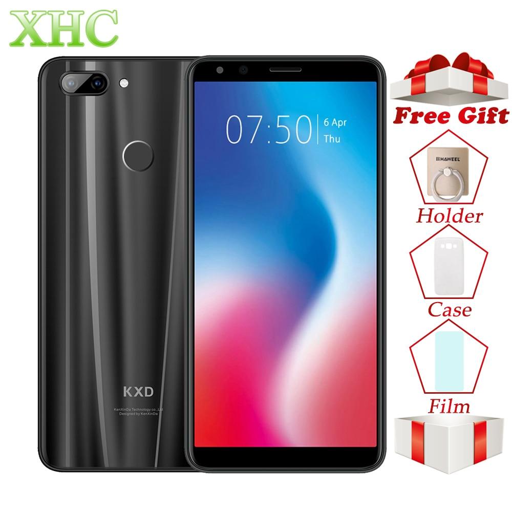 KXD K30 3GB 32GB Smartphone Face Fingerprint Unlock 5.7inch Android 8.1 MTK6750 Octa Core Dual SIM 13MP 8MP LTE 4G Mobile Phone