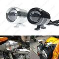 1pc Waterproof Motorcycle 30W 12V U2 LED Laser Cannon Headlight Spot Strobe Driving Fog Light Lamp   #CA2079