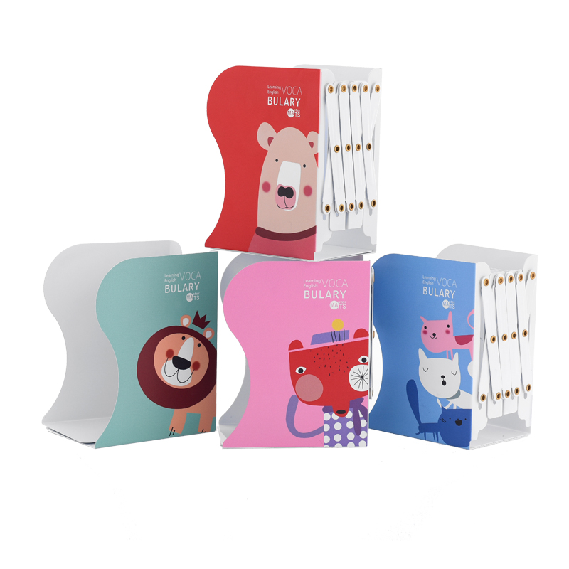 MIRUI cute animal retractable book holder reading creative student desktop holder office stationery reading for first student s book