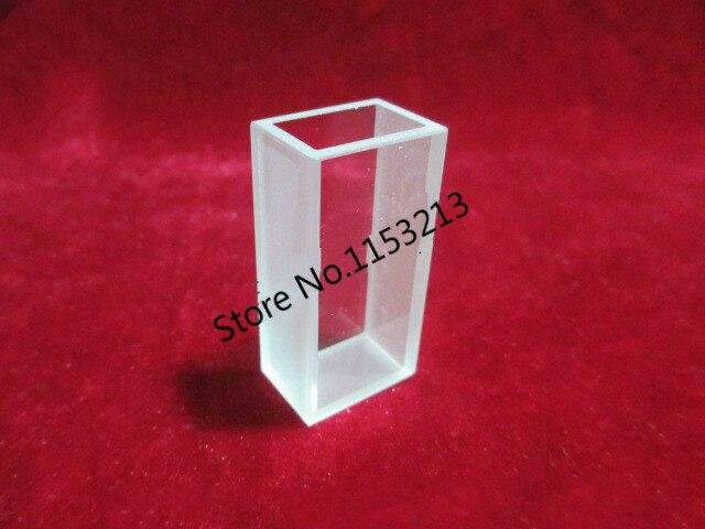 2pcs lot 10mm 5 6ml Measuring reflected light cuvette quartz Lovibond cuvette liquid sample cell Absorption