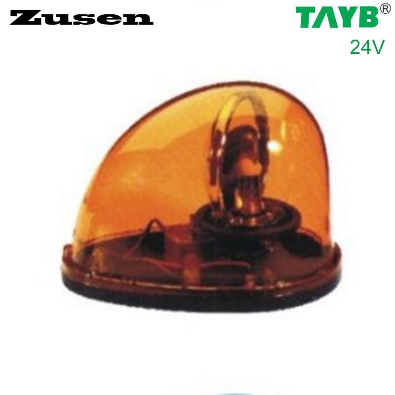 Zusen YELLOW Light bulb TB1201 24V Traffic barrier lights Signal Warning Light LED Lamp Magnet bottom
